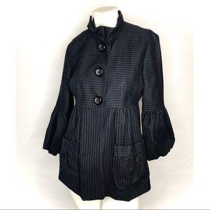 Nanette Lepore black coat/jacket size 6